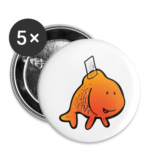 JOKE - Lot de 5 petits badges (25 mm)