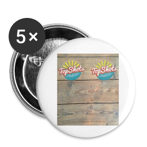 TenSlippers - Buttons klein 25 mm (5-pack)