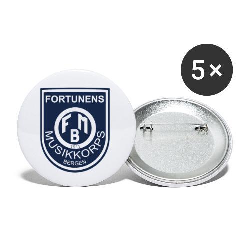 Fortunen logo - Liten pin 25 mm (5-er pakke)