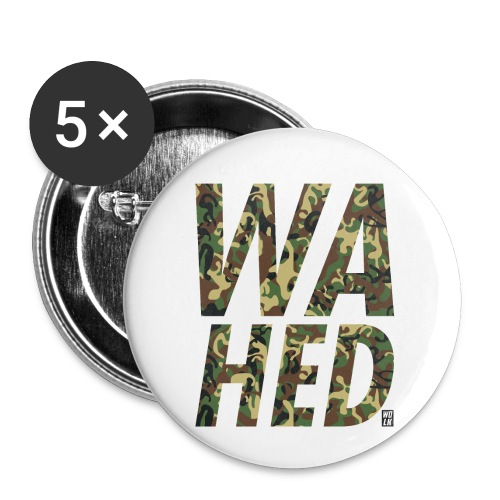WAHED - Buttons klein 25 mm (5-pack)