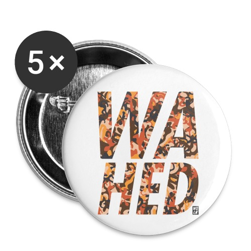 WAHED2 - Buttons klein 25 mm (5-pack)