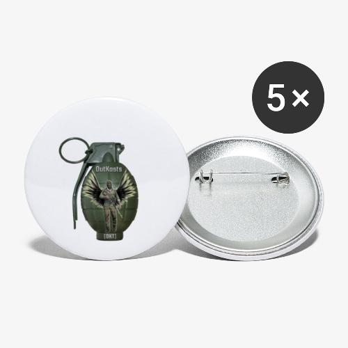grenadearma3 png - Buttons small 1''/25 mm (5-pack)