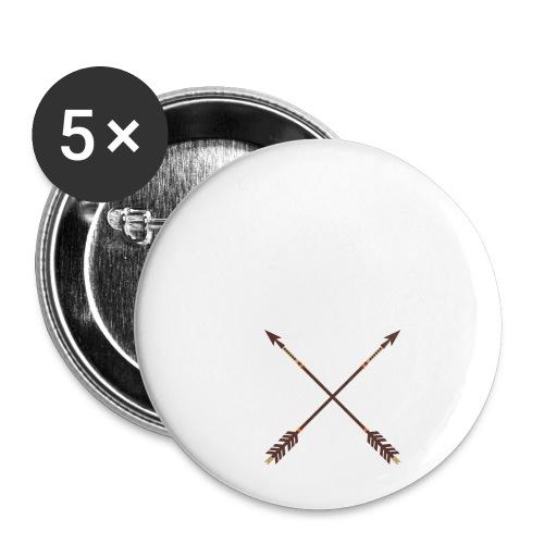 Aim for your Dreams white - Rintamerkit pienet 25 mm (5kpl pakkauksessa)