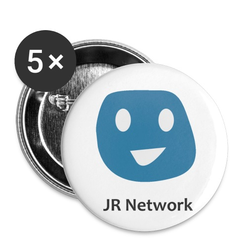 JR Network - Buttons small 1''/25 mm (5-pack)