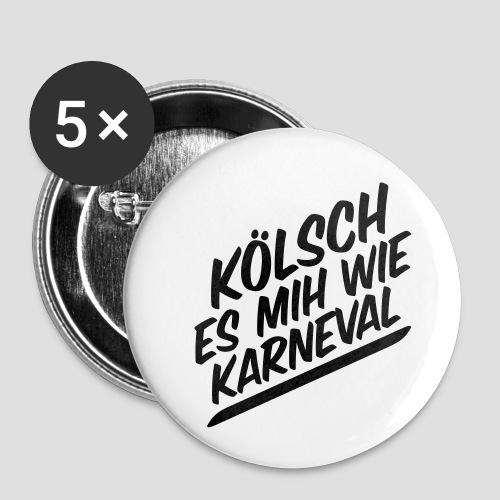 daeHoot Karneval - Buttons klein 25 mm (5er Pack)