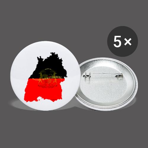 Made in Baden Württemberg - Buttons klein 25 mm (5er Pack)