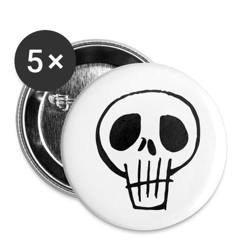 Skull - Buttons klein 25 mm