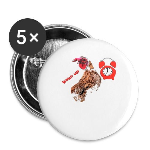Wake up, the cock crows - Buttons small 1''/25 mm (5-pack)