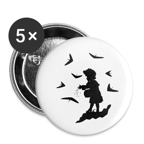 HG FEEDING WINGS - Buttons small 1''/25 mm (5-pack)