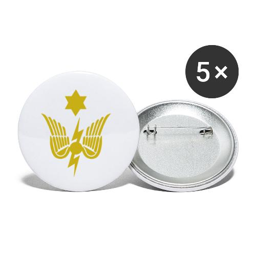 RO1(G) - Buttons small 1''/25 mm (5-pack)