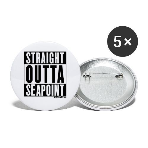 Straight Outta Seapoint - Buttons small 1''/25 mm (5-pack)