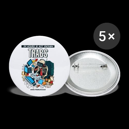 24 hours is not enough - Buttons klein 25 mm (5er Pack)