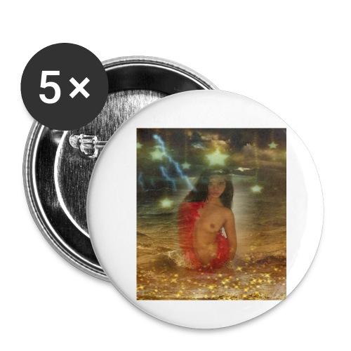 Sturmy Sunny - Buttons klein 25 mm (5er Pack)