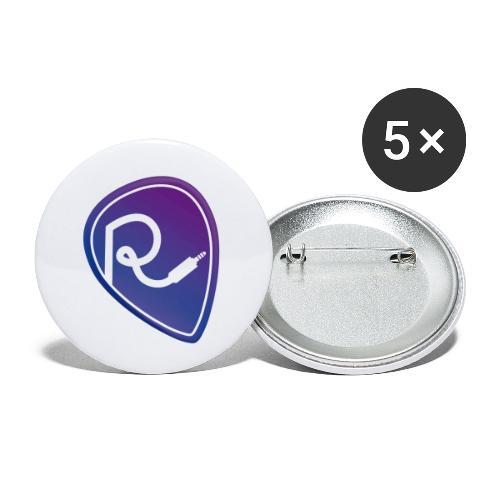 Logo Color - Confezione da 5 spille piccole (25 mm)