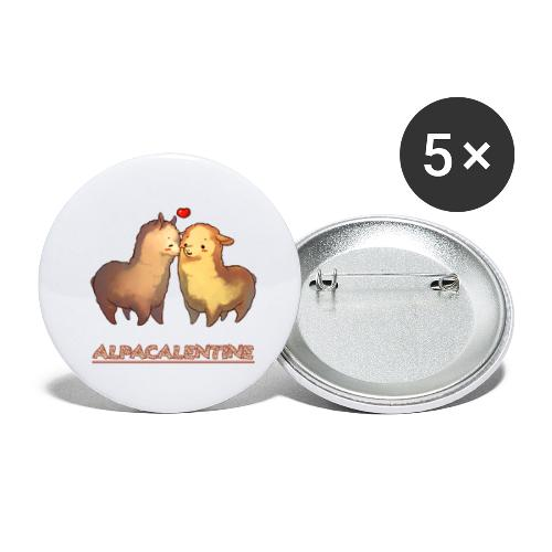 ALPACALENTINE - Buttons small 1''/25 mm (5-pack)