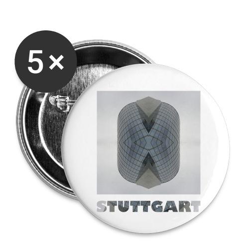 Stuttgart #1 - Buttons klein 25 mm (5er Pack)