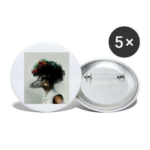 pini punk - Buttons klein 25 mm (5er Pack)