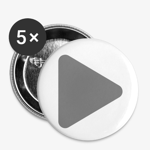 Play - Buttons klein 25 mm (5er Pack)