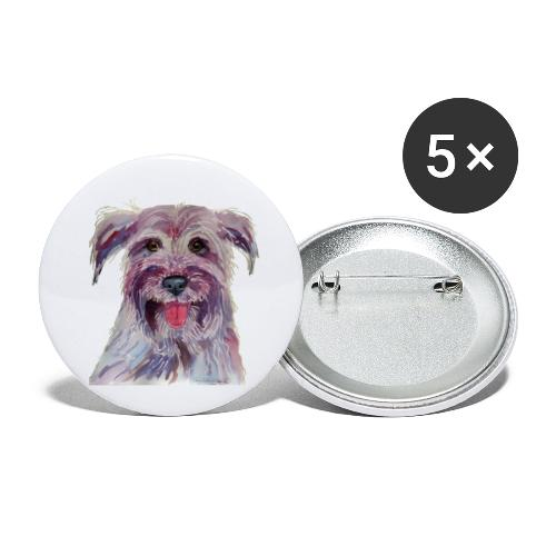 pyrenean shepherd - Buttons/Badges lille, 25 mm (5-pack)