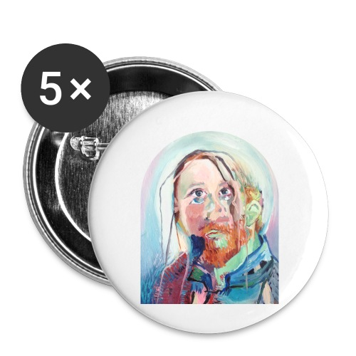 holy g - Buttons klein 25 mm (5-pack)