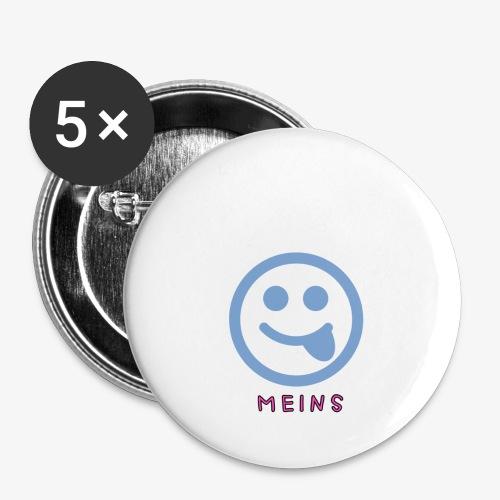 MyShop.... - Buttons klein 25 mm (5er Pack)