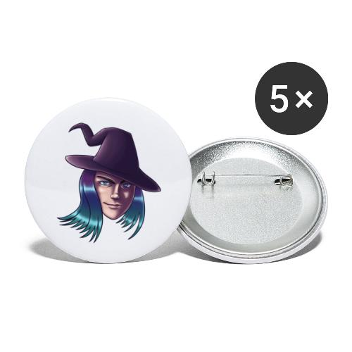 Witchie Dauntie - Buttons small 1''/25 mm (5-pack)