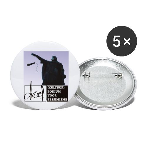 Artevelde drops the mike - Buttons klein 25 mm (5-pack)