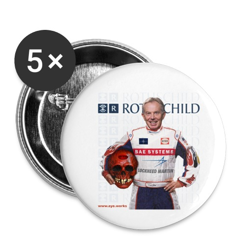 Inhuman Race - Buttons small 1''/25 mm (5-pack)