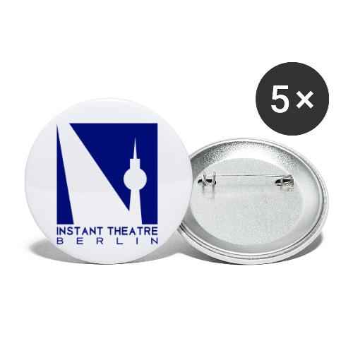Instant Theater Berlin logo - Buttons small 1''/25 mm (5-pack)