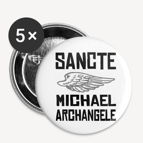 SANCTE MICHAEL ARCHANGELE - Buttons small 1''/25 mm (5-pack)