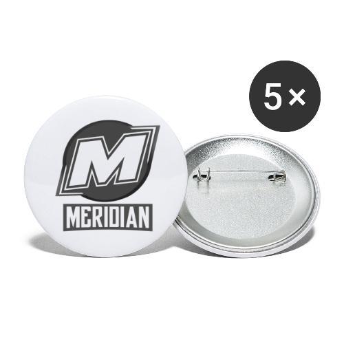 Offizielles sc0pez merch - Buttons klein 25 mm (5er Pack)