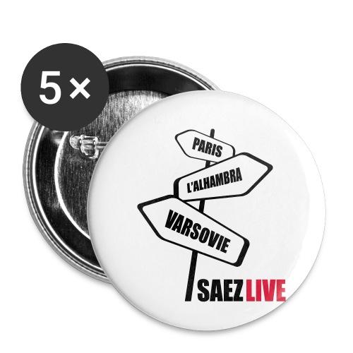 Varsovie (version dark, par parek) - Lot de 5 petits badges (25 mm)