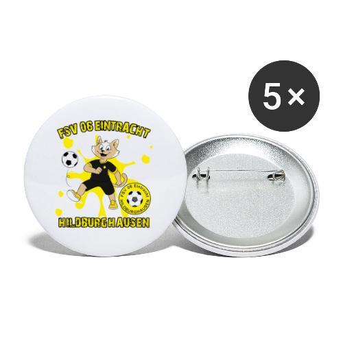 Hildburghausen ESKater - Buttons klein 25 mm (5er Pack)