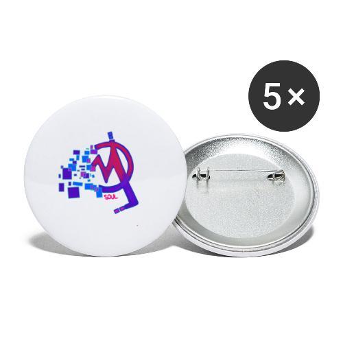 IMG 20200103 002332 - Paquete de 5 chapas pequeñas (25 mm)