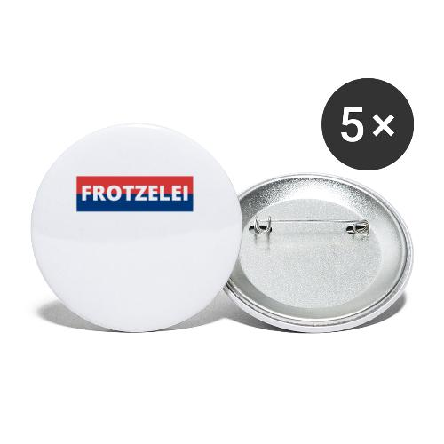 FROTZELEI - Polizeikontrolle Geschenk Autofahrer - Buttons klein 25 mm (5er Pack)