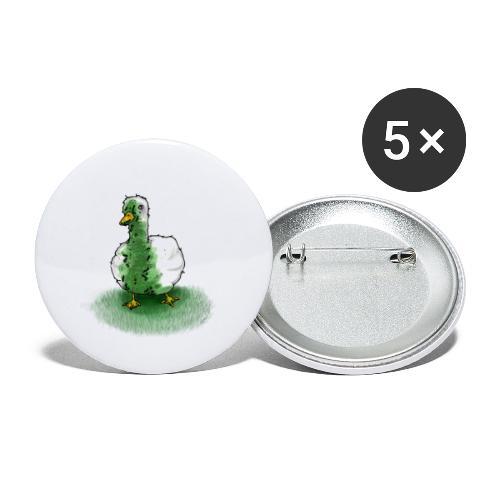 Ente Übergeben | Lustig Geschenk Humor - Buttons klein 25 mm (5er Pack)