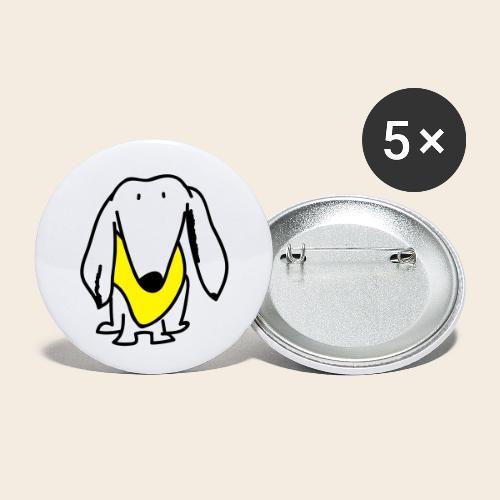 Petit mais courageux - Lot de 5 petits badges (25 mm)