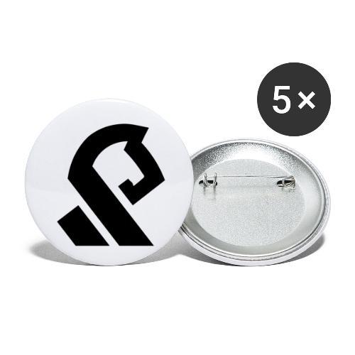 Offerspill Black Icon - Liten pin 25 mm (5-er pakke)