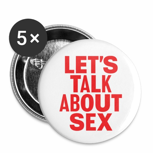 sex - Buttons small 1''/25 mm (5-pack)