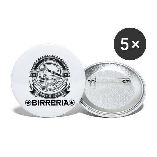 Rock Vintage - Buttons klein 25 mm (5er Pack)