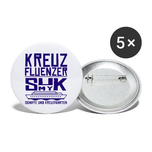 Kreuzfluenzer - SuK my Ship - Buttons klein 25 mm (5er Pack)