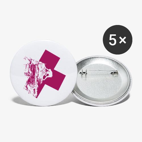 Climbing away - Buttons small 1''/25 mm (5-pack)
