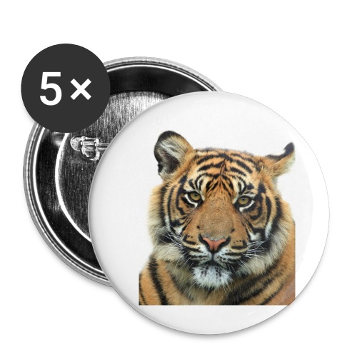 tiger 714380 - Confezione da 5 spille piccole (25 mm)
