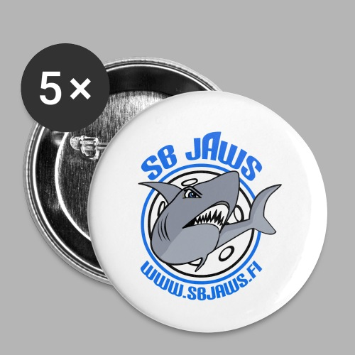 SB JAWS - Rintamerkit pienet 25 mm (5kpl pakkauksessa)