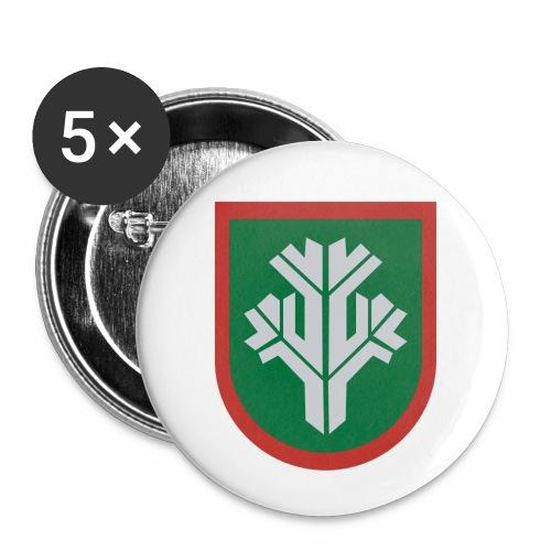 sissi - Rintamerkit pienet 25 mm (5kpl pakkauksessa)