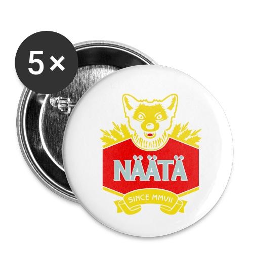 Näätä - Rintamerkit pienet 25 mm (5kpl pakkauksessa)