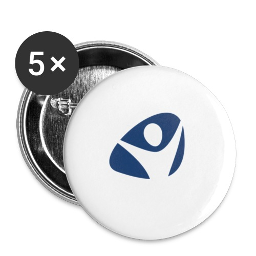 PDVLogoGrafik png - Buttons klein 25 mm (5er Pack)