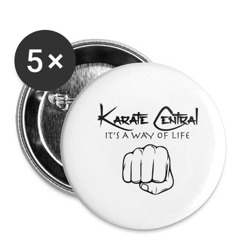 tekken fist v3 png - Buttons small 1''/25 mm (5-pack)