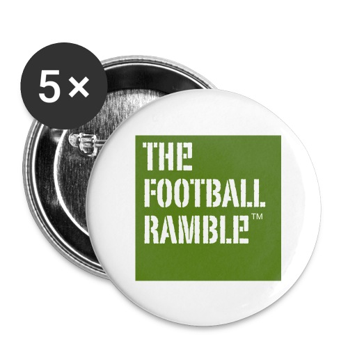 ramble logo - Buttons small 1''/25 mm (5-pack)