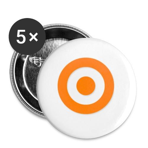Tap Game - Confezione da 5 spille piccole (25 mm)